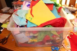 Exploding craft box.