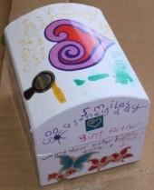 L's finished box.
