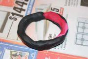 Plasticine ring.