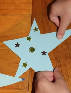 One of L's multi-stickered stars.