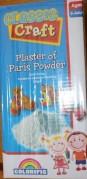 Box of plaster-of-paris.