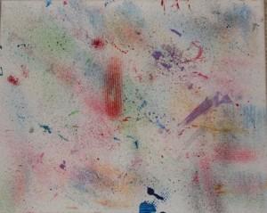 L's sprinkle painting.