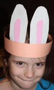 L being a mischievous little bunny.