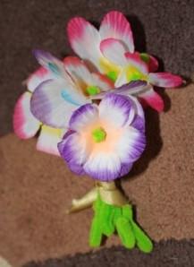 A's bouquet.