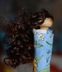 A's lovely hair.