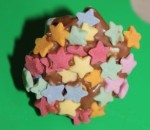 A star meringue.