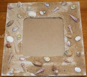 My shell frame.