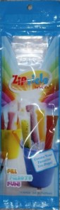 The packet of Zipzicles.