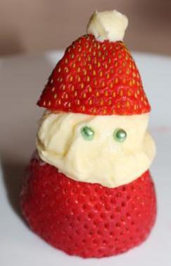 Strawberry Santa