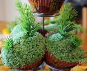 Island cupcakes.