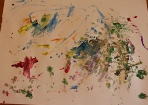 T1's painting.